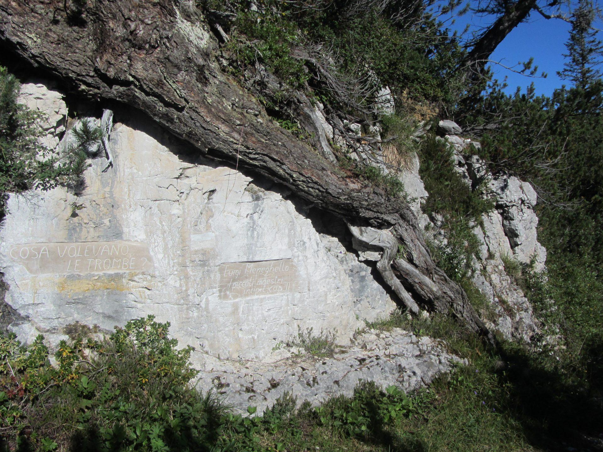 Incisione su roccia