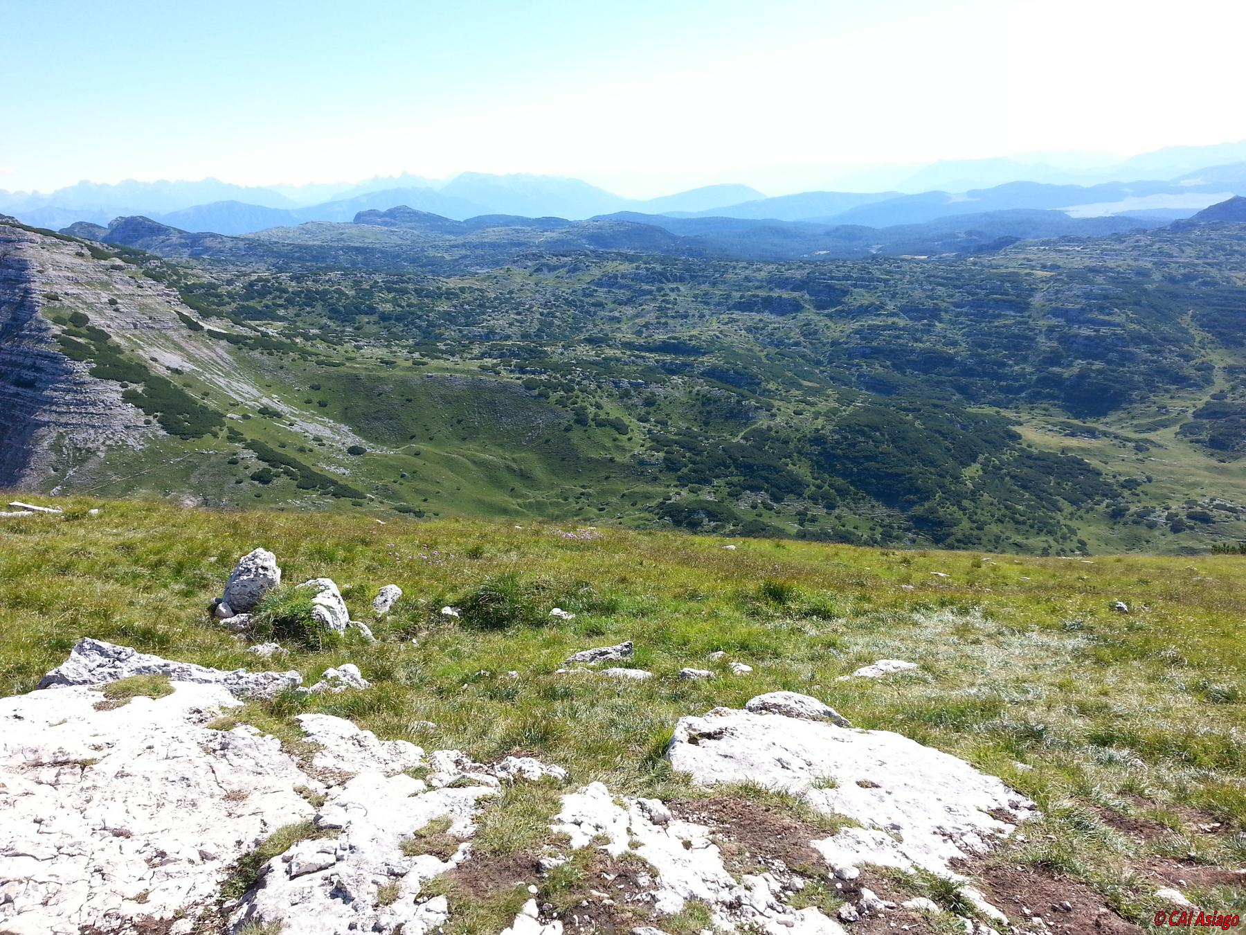 Panorama verso M. Ortigara